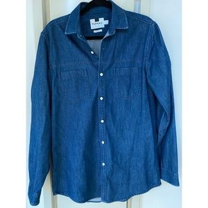 Topman Denim Button Down